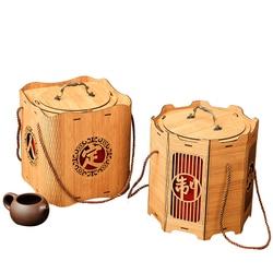 Xin Jia Yi opakowanie Retro stary kolor ngrave Logo złote Logo SPA olej drewniane pudełko na prezent E