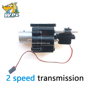 Image 2 - WPL Upgrade WPL Gearbox Accessories Spare Part Original WPL OP Fitting 2 Speed Transmission B14B16 B24 C14 C24 Available 4*4 6*6