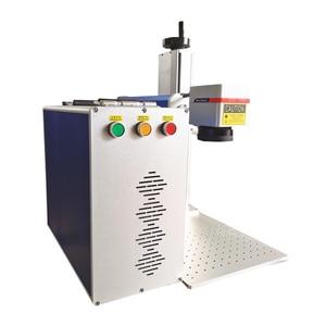 Image 3 - Factory direct máquina de grabado de metal, máquina de marcado láser de fibra Raycus de 20W para grabado de aluminio dorado, plateado y cobre