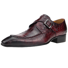 Shoe Men Wedding-Shoes Genuine-Cow-Leather Loafer Dress Handmade Social Formal New Man