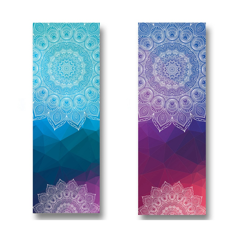 Absorvente e Resistente ao Calor Grosso Antiderrapante Yoga Toalhas Premium Tuch Toalha M017-2 & M017-3 2x