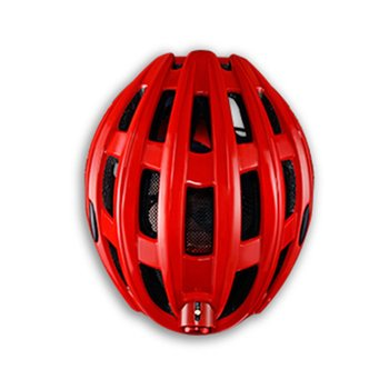 цена Bicycle helmet with warning light luminous insect-proof net mountain road riding helmet equipment for men and women онлайн в 2017 году