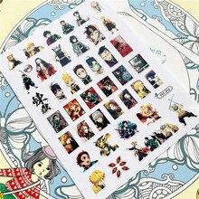 TSC-212 TSC-213 personaggio dei cartoni animati anime 3D retro colla Nail Art adesivi decalcomanie cursori decorazione dell'ornamento del chiodo