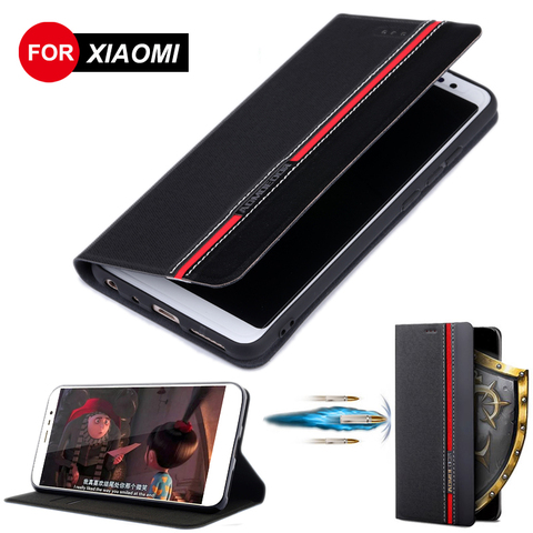 Leather Flip Case For Xiaomi Mi Note 3 CC9 CC9E 9 Se 9T Pro Mi 6 8 6X 5X A1 A2 A3 Lite Mix 2 2S 3 Pocophone F1 Phone Cover Cases Pakistan