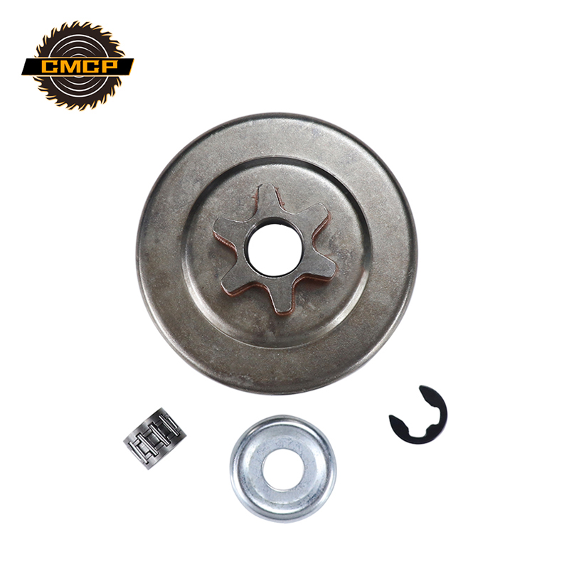 CMCP 3/8'' 6T Clutch Drum Sprocket Washer E-Clip Kit For STIHL 017 018 021 023 025 MS170 MS180 MS210 MS230 MS250 Chainsaw