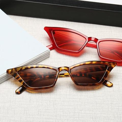 1Pcs Vintage Cat Eye Sunglasses Fashion Women Small Frame UV400 Sun Shades Glasses Street Eyewear Luxury Trending Sunglasses Karachi