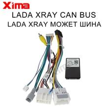 Lada xray 2015 2019 canbus 용 XIMA CAR ANDROID lada xray