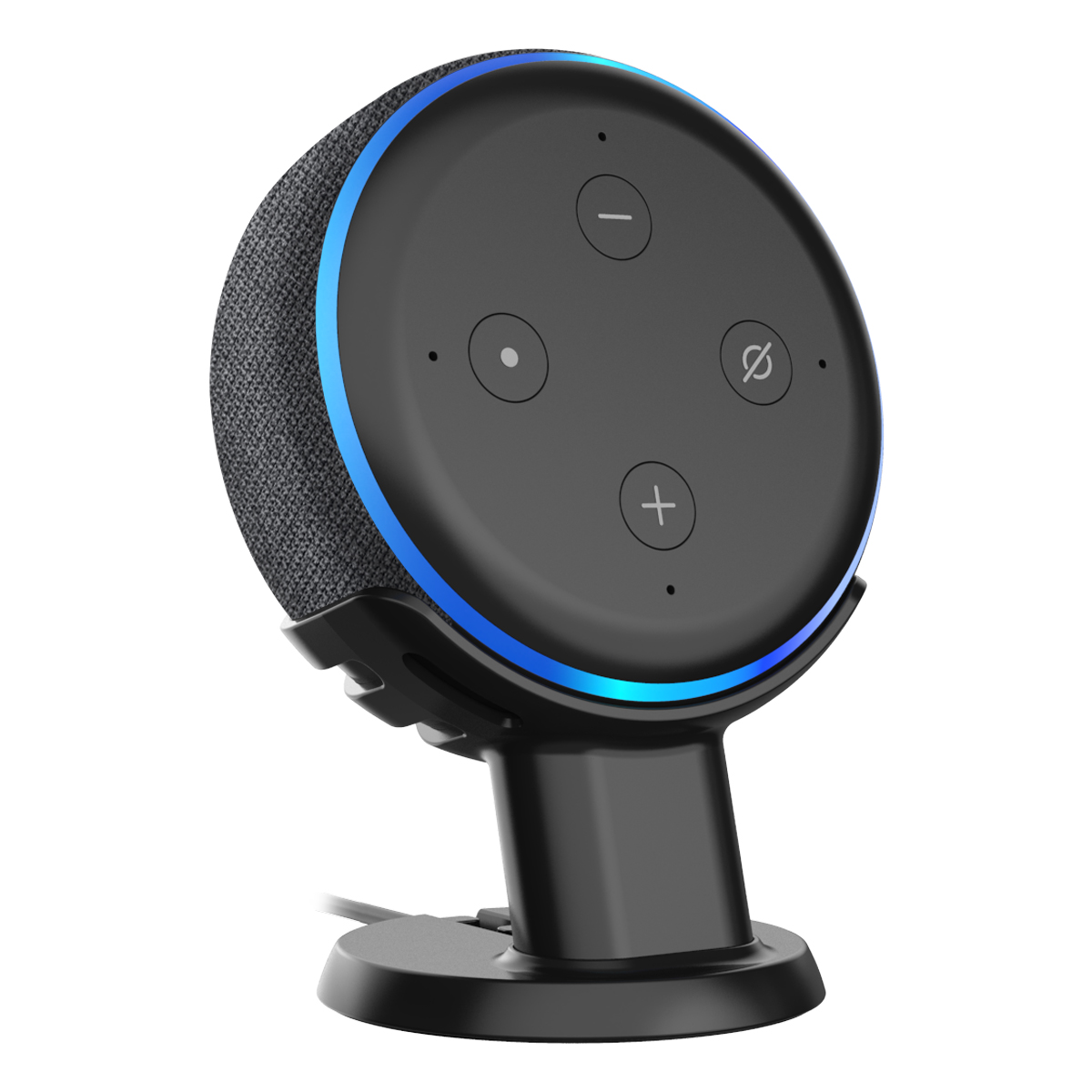 For Amazon Alexa Echo Dot 3rd Generation Holder Mount Stand Case ,Mount Stand Work With Amazon Echo Dot 3 Assistant Stand