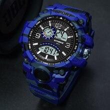 Digital Watches SYNOKE Sports Waterproof Electronics Men Fashion Casual Luxury Life LED