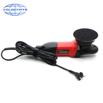 Auto Polishing Machine Dual Action Car Polisher Machine 220V Electric 125mm Polishing Pad Backing Plate for Buffing Waxing Tools 220v desktop electric pad printer machine printing machine for product date small logo print cliche plate rubber pad