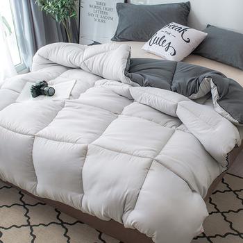 W nowym stylu kołdra zimowa kołdra kształt chleba pocieszyciel gruby i ciepły luksusowy druk 100 tkanina z piór pocieszyciel łóżko-zestaw koc tanie i dobre opinie DSFHSFH