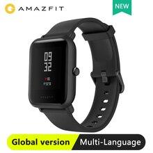 Küresel sürüm Huami Amazfit Bip Lite akıllı saat ile hafif 45 gün bekleme GPS 3ATM su geçirmez Smartwatch