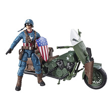 """ML Legends World War II Captain American with Bicycle 6"""" Loose Action Figure"""