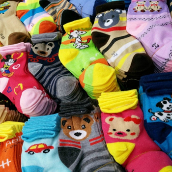 3pair/Lot Wholesale Lots Mixed Style Color Cotton Cartoon Animal Children Kids Girls Boys Floor Mid stockings 6p510 wholesale baby kids boutique clothing lots