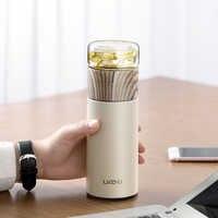 360ML Bottiglia di Vetro del Tè Infuser del tè di Vetro In Acciaio Inox Tè Infusore Bottiglia A Prova di Perdite Portatile Bottiglia Thermos Bottiglia di Tè con Filtro