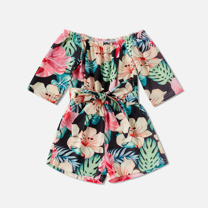 Mum & Daughter Matching Flower Dress