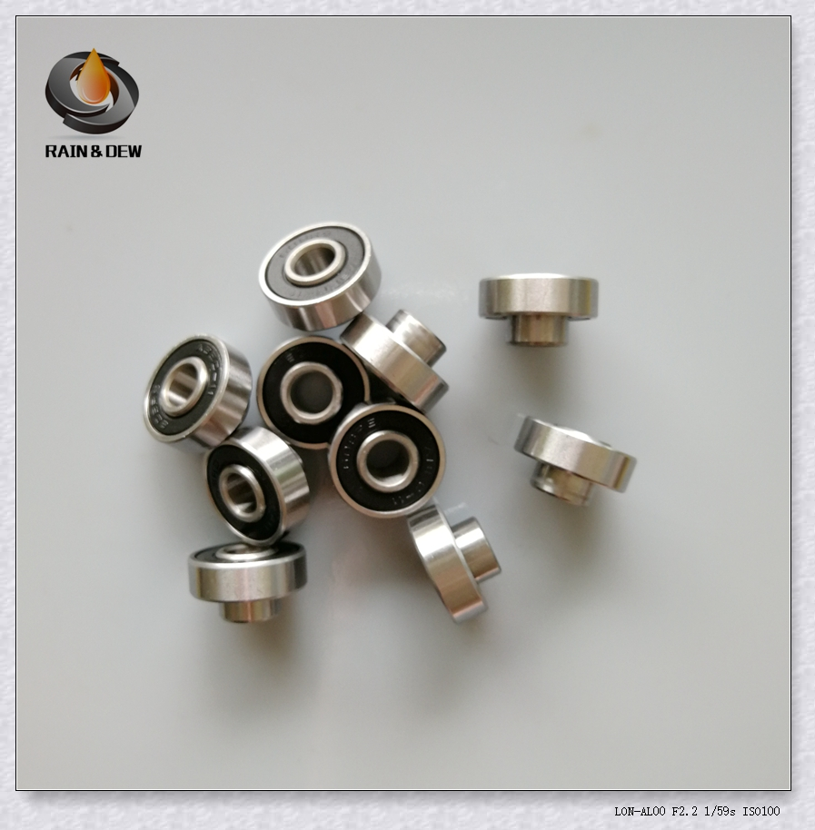 10Pcs 608 RS Integrated spacer Bearing 608 8x22x7 mm ABEC-11 Skateboard Ball Bearing 608 image