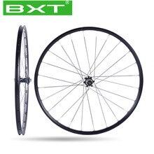 BXT 27.5er 29er MTB Mountain Bike zestawy kołowe 4 łożyska piasty części rowerowe rower koło ze stopu aluminium 29 zestawów 28 otwory koła rowerowe