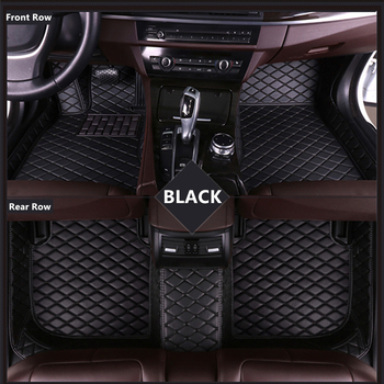 SJ ALL Weather Car Floor Mats Front & Rear FloorLiner Mat For TOYOTA Vios Prius Prado RAV-4 Corolla Crown Camry Highlander CH-R image