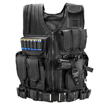Tactical Vest Military Combat Army Armor Vests Molle Airsoft Plate Carrier Swat Vest Outdoor Hunting Fishing CS Training Vest military equipment tactical vest airsoft hunting molle vest for outdoor wargame army training paintball combat protective vest