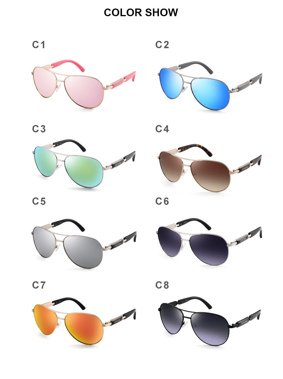 Hb28b7c74ae384fc5967e78a578f5fc3dw FENCHI Polarized Sunglasses Women Vintage Brand Glasses Driving Pilot Pink Mirror sunglasses Men ladies oculos de sol feminino