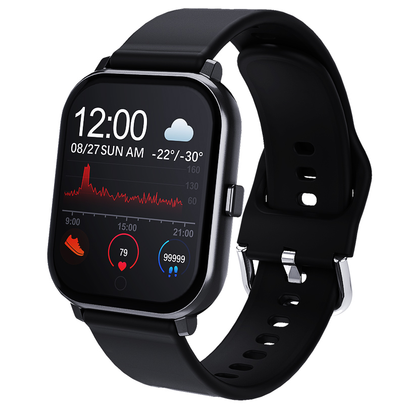 Timewolf 2020 New Smart Watch IP67 Waterproof Smart Watch Blood Pressure Measurement Man Smartwatch for Iphone IOS Android Phone
