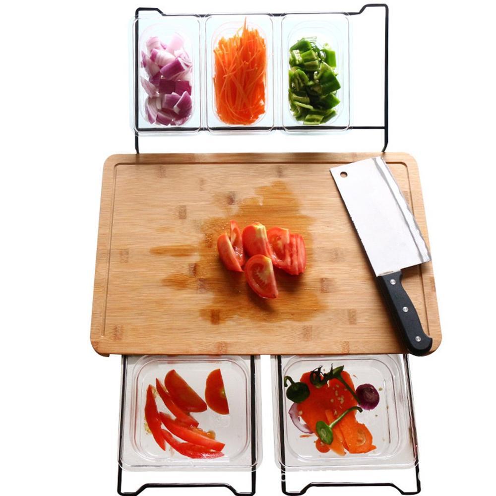 Multi-fonction planche à découper Classification antibactérienne planche à découper vraie cuisine légume Fruit couteau conseil