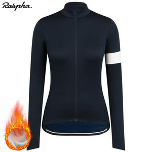 2020 Newest Raphaful Cycling Clothes Women Fleece Long Sleeve Jersey Road Bike Jersey MTB Cycling Clothing Jersey Ropa Ciclismo