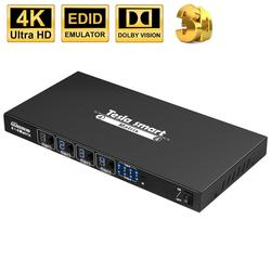 DHL LIBERA il Trasporto HDMI Matrix 4x4 Ultra HD 4K Matrix Switch Splitter 4 In 4 Out con RS232 IR Telecomando per 4K * 2K @ 30Hz HDCP