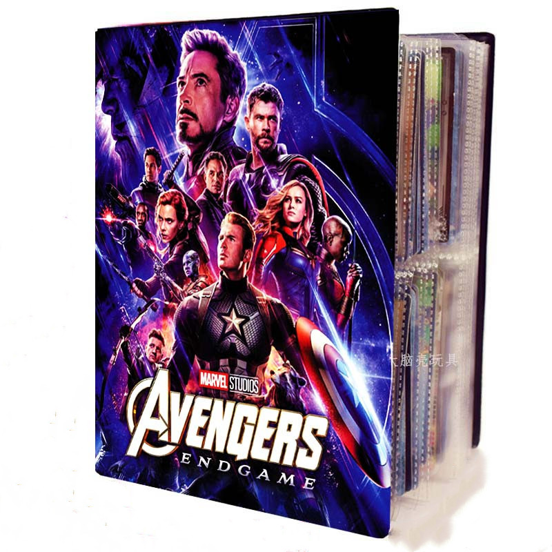 Avengers Ultimate Battle Yu Gi Oh Dragon Ball Card Collection Book Card Storage Finishing