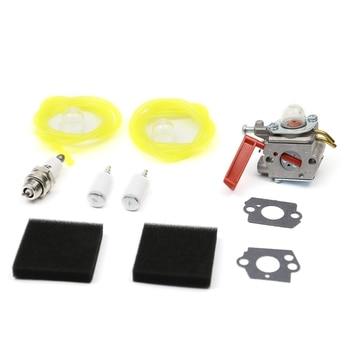 spot sale unique toys ut r 01 confined peru kill Carburetor Kit for Homelite UT-20749 UT-20758 UT-20769 UT-20750 UP08713 Zama C1U-H47 Fuel Line Filter Primer Bulb