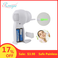 Electric Safe Ear Cleaner Painless Cordless Ear Vacuum Clean