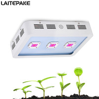 900W high power LED Grow Light Full Spectrum x3 cob led For Indoor tent Plant Hydroponics Growing and Flowering with Fan cooling