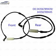 Front & Rear Brake Pad Wear Sensor for BMW 1 Series E81 E82 E87 E88 3 E90 E91 E92 E93 OEM NO 34356789439 34356789445