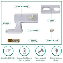Goodland LED Under Cabinet Light Universal Wardrobe Light Sensor Led Armario Inner Hinge Lamp For Cupboard Closet Kitchen @1