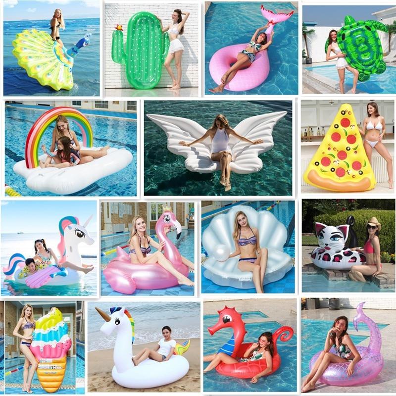 Надувное кольцо для плавания, плавающее кольцо для бассейна, для взрослых, для детей, эксклюзивные вечерние кольца для плавания, вечерние игрушки|Надувные матрасы|   | АлиЭкспресс