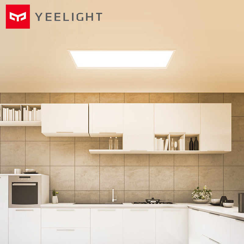 YEELIGHT Ultra Thin LED Panel Light IP50 Dustproof Ceiling Lamp Downlight Wireless WIFI Control For Kitchen Bathroom
