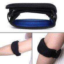 Adjustbale tennis cotovelo apoio guarda pads golfista cinta cotovelo dor lateral síndrome epicondylite cinta