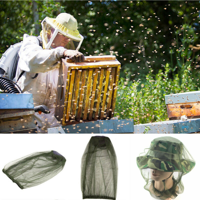 Mesh-Cover Beekeeping-Hats Pest-Control Garden Face-Protector Dust-Proof Breathable Outdoor