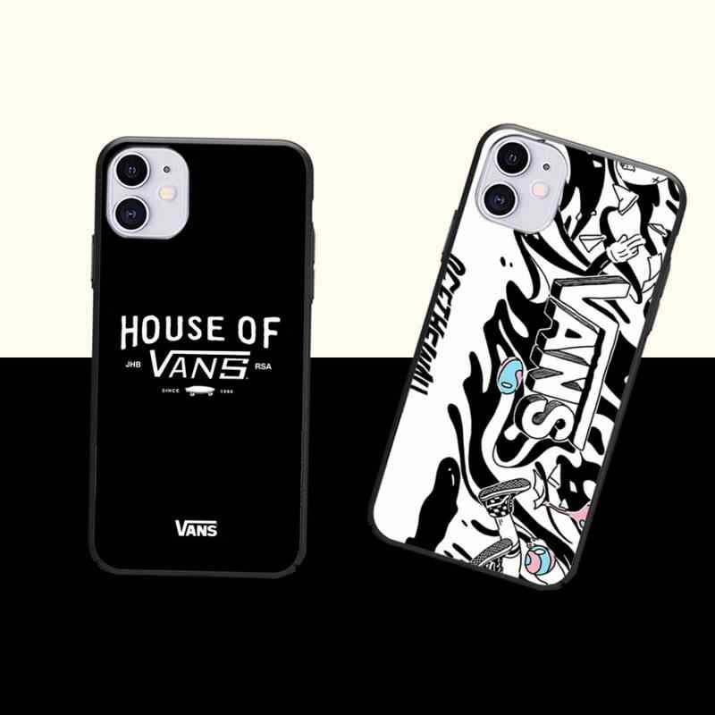 Marque de skate vans cas coque fundas pour iphone 11 PRO MAX X XS ...