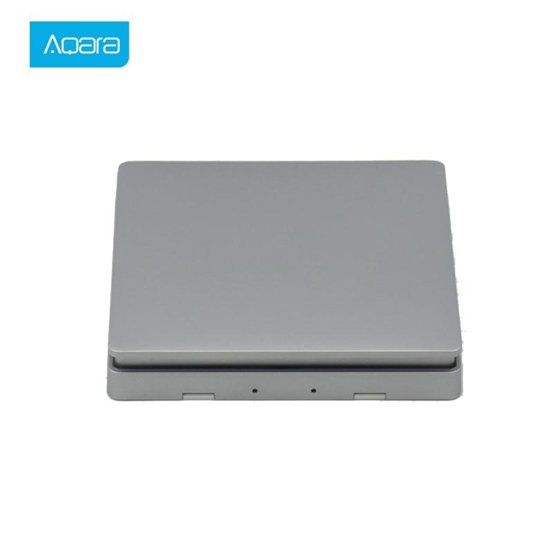 Aqara Smart Home Switch Light Remote Control ZiGBee wifi Wireless Key Wall Switch work for mijia Mi Home APP Smart Switch in Switches from Lights Lighting
