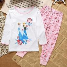 С фабрики; комплекты пижам для малышей; зимний костюм для сна для мальчиков; нижнее белье для маленьких девочек; топ с длинными рукавами+ штаны; детская одежда из 2 предметов