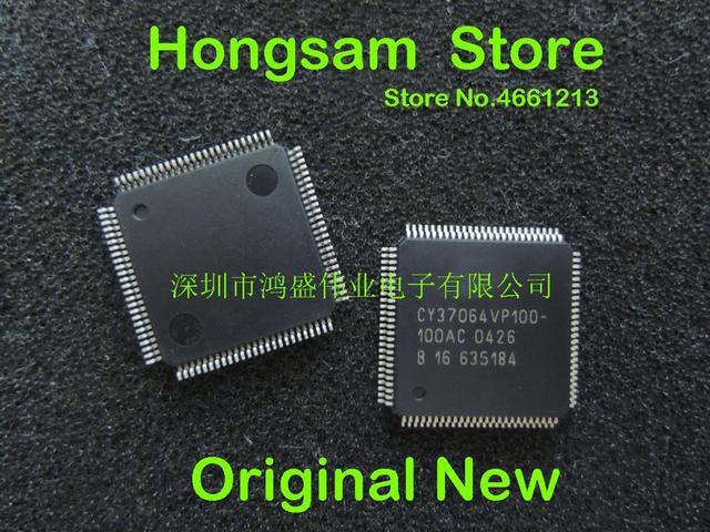 (1 PCS) CY37064VP100 100AC CY37064VP100 QFP המקורי חדש