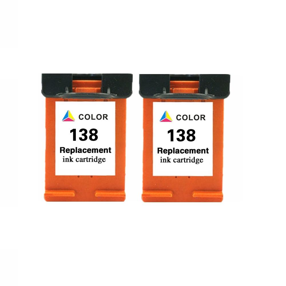 Compatible Ink Cartridge For Hp138 138XL 138 Potosmart 2713 7838 7850 8000 8030 8039 8049 8050 8053 8100 8150 8153 8400 8450