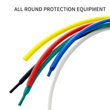 5 metrów rurka termokurczliwa poliolefinowe kurczenie się różne rurka termokurczliwa rurowy kabel z izolacją termokurczliwą rury zestaw tanie tanio hoomall CN (pochodzenie) Termokurczliwe