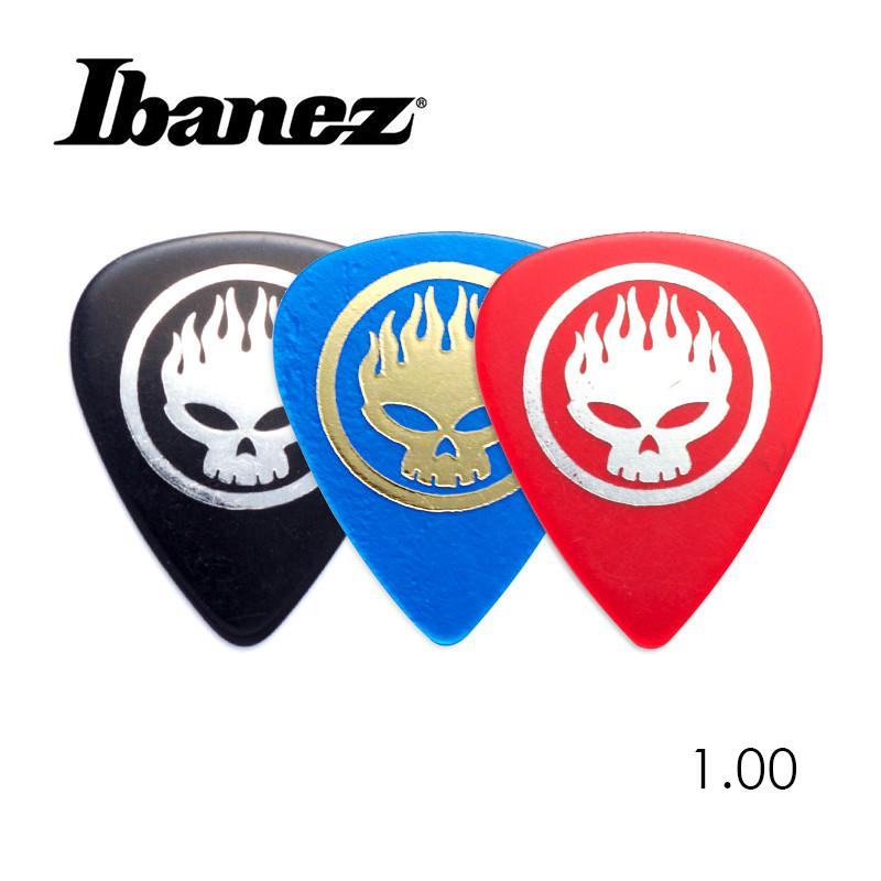 IBANEZ The Offspring's OS Signatured 1.0mm Plectrum Acoustic Guitar Pick, Made In Japan 1/piece