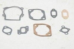Cylinder Metal Gasket and Paper Gasket 8pcs/set Fit 23-30CC Zenoah CY Engine for HPI BAJA RV KM Rc Car Parts