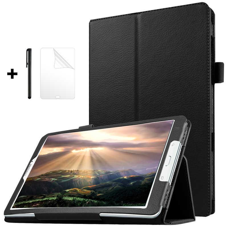 Ốp Lưng Dành Cho Samsung Galaxy Tab E 9.6 T560 T561 SM-T560 SM-T561 Máy Tính Bảng Funda Slim Đứng Da PU Dành Cho Samsung tab E 9.6 Ốp Lưng