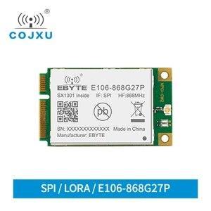 Bateria sx1301 portão way, módulo de comunicação 868mhz spi, módulo rf E106-868G27P, transmissor sem fio de longa distância