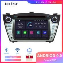 DSP Android 9 Car GPS Navigation DVD Player For Hyundai ix35 Tuson 2009+ Auto Stereo Radio Multimedia player Head Unit recorder